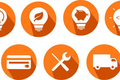 Icones pour site web
