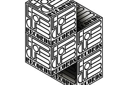"Declinaison du logo ""Pop club records"""
