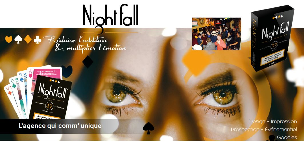 Nightfall - un projet innovant en communication