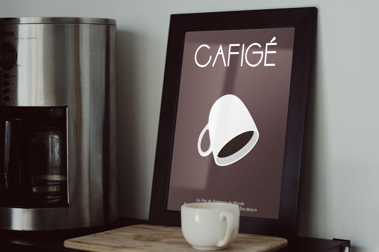 """Affiche Court-métrage """"CAFIGÉ"""""""