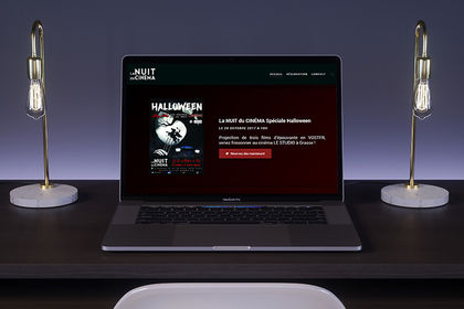 Site internet, La Nuit du Cinéma