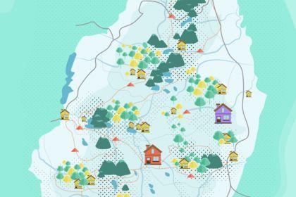 Illustration - carte Auvergne