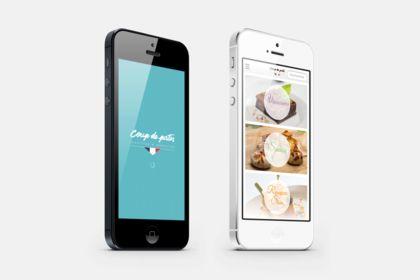 App mobile iOS & Android avec commande en ligne