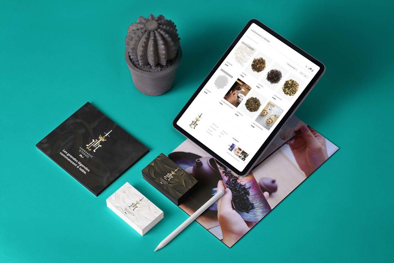 Communication 360° pour marque de thé de luxe