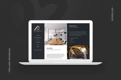 Site web vitrine pour entreprise de rénovation