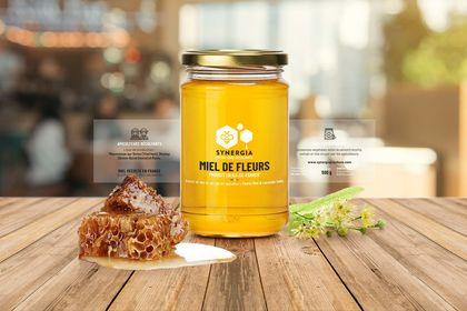 Packaging pot de miel pour apiculteurs urbain