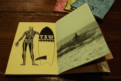 THE SAILOR surfboard booklet