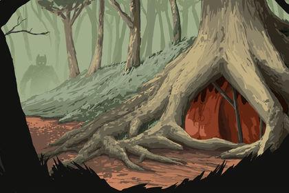 Forest - Forgotten entrance