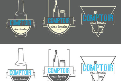 Logo - Comptoir vins & terroirs