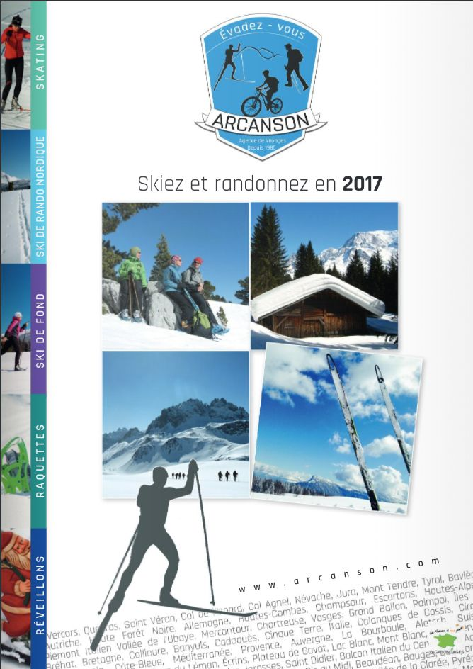 Brochure Arcanson – Hiver 2017