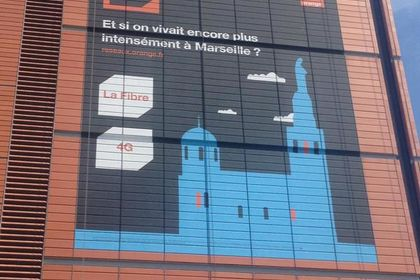 Bâche Joliette-Marseille