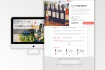Vin sur Vin - Site Web