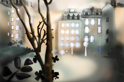 Série de colorisation d'après dessin/decors animat