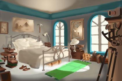 Colorisation de décors