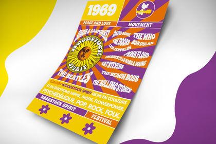 Affiche Woodstock Spirit