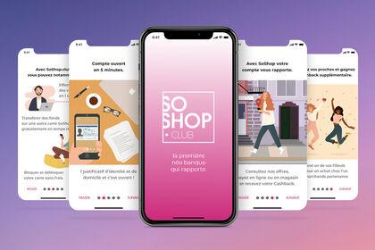 UX/UI INTERFACE SOSHOP.COM