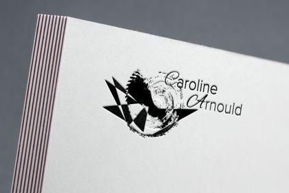 Logo personnel présentation sur en-tête de lettre