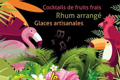 Flyer promotionnel bar à cocktails