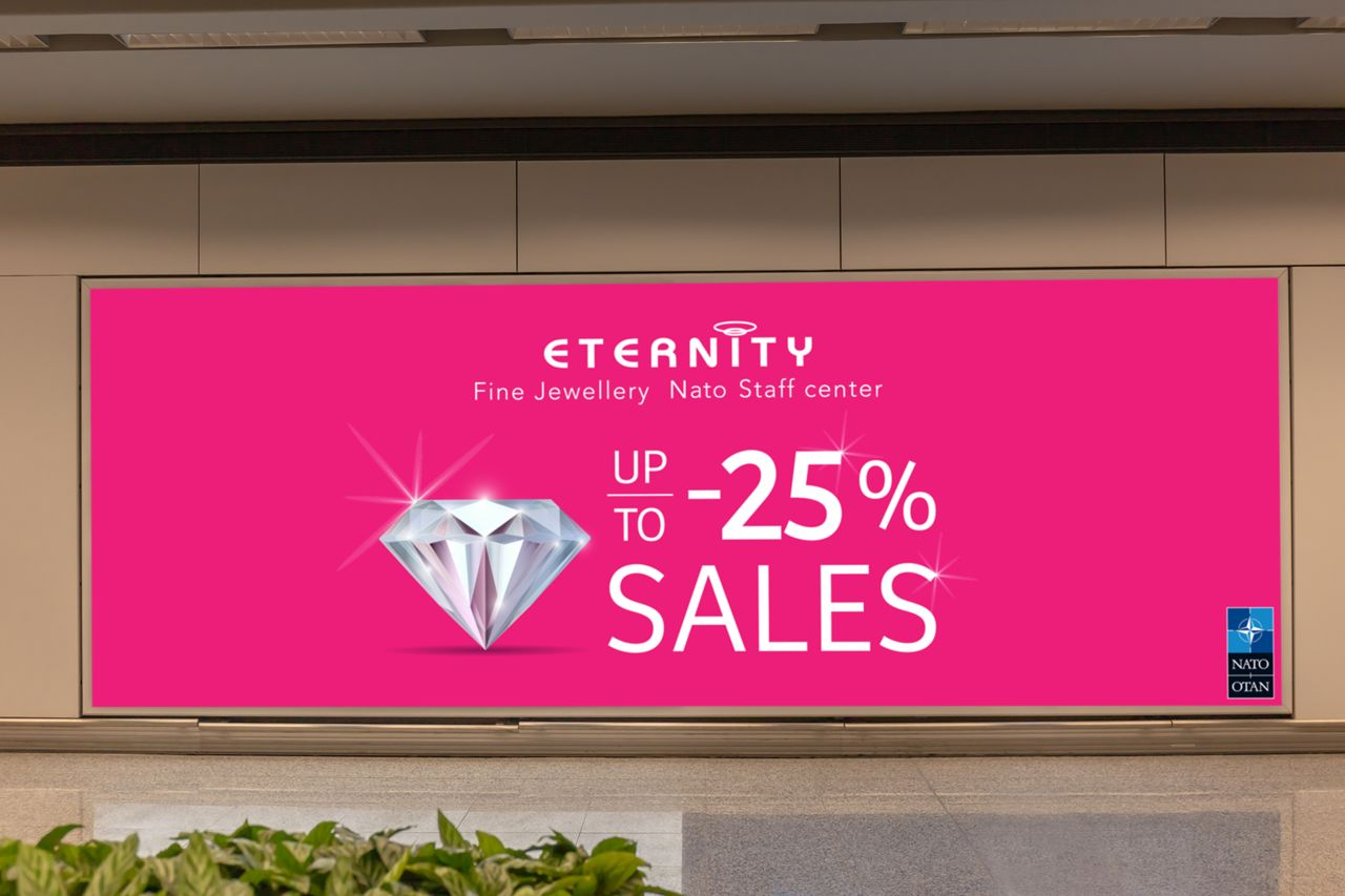 Screen Advertising Shop Sales