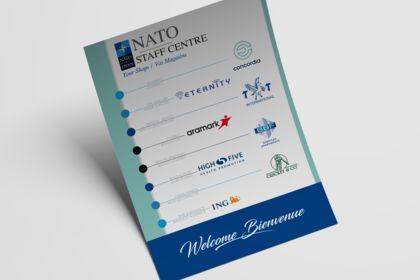 Flyer promotion shops d'une galerie commerciale