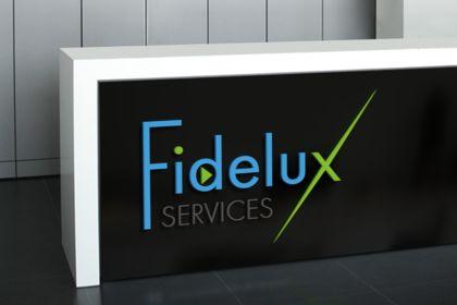 Création logo Fidelux Services
