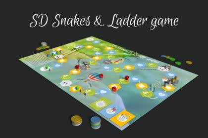 Création plateau de jeu de société & cartes de jeu