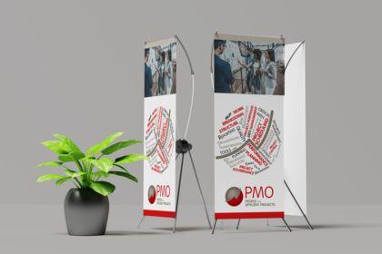Rollup Project Management pour salons