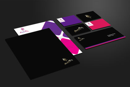 Branding Identity Color and Black