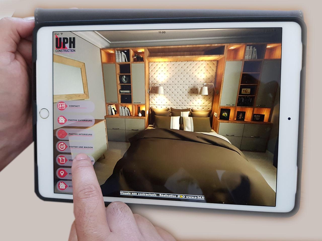 Mini site intéractif avec visite virtuelle 3D 360°