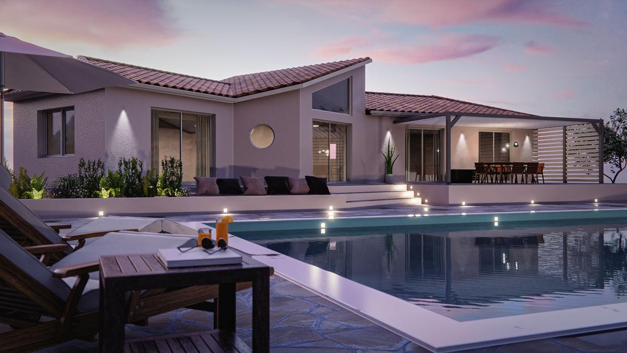 Rendu 3D Villa