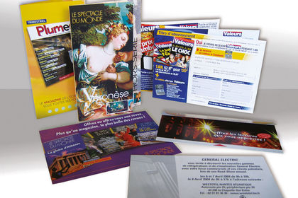 Cartons, flyers, dépliants