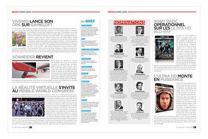 Magazine - Multimédia à la Une