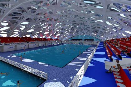 Intérieur piscine 'grand bassin°