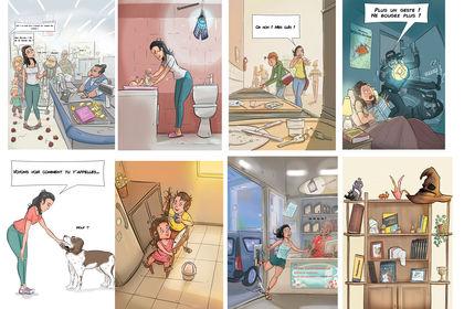 Illustrations pour mariage