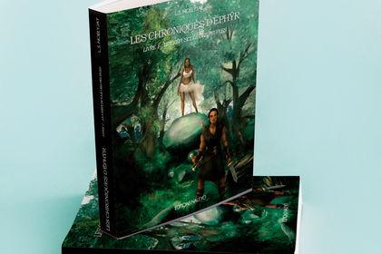"""Couverture livre """" Les Chroniques d'Ephyr  """""""