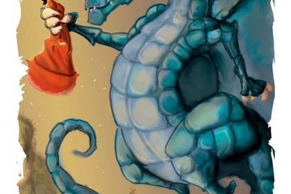 """Conte pour enfant : """" La princesse et le Dragon """""""