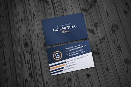 Cartes de visite Thierry Guicheteau