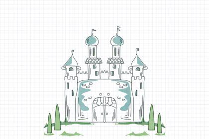 Idllustration château