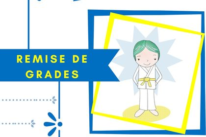 Affiche club judo