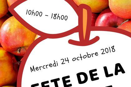 Affiche fêtes de la pomme