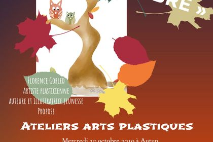 Affiche ateliers art plastique