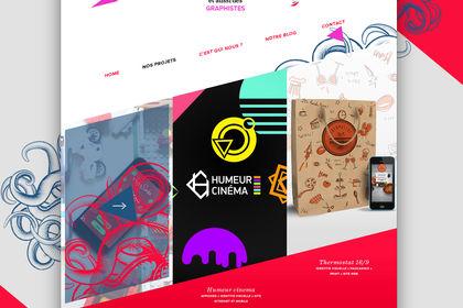 Identité et site internet de l'agence DesGaines