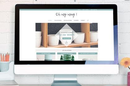 Webdesign Oh my mug