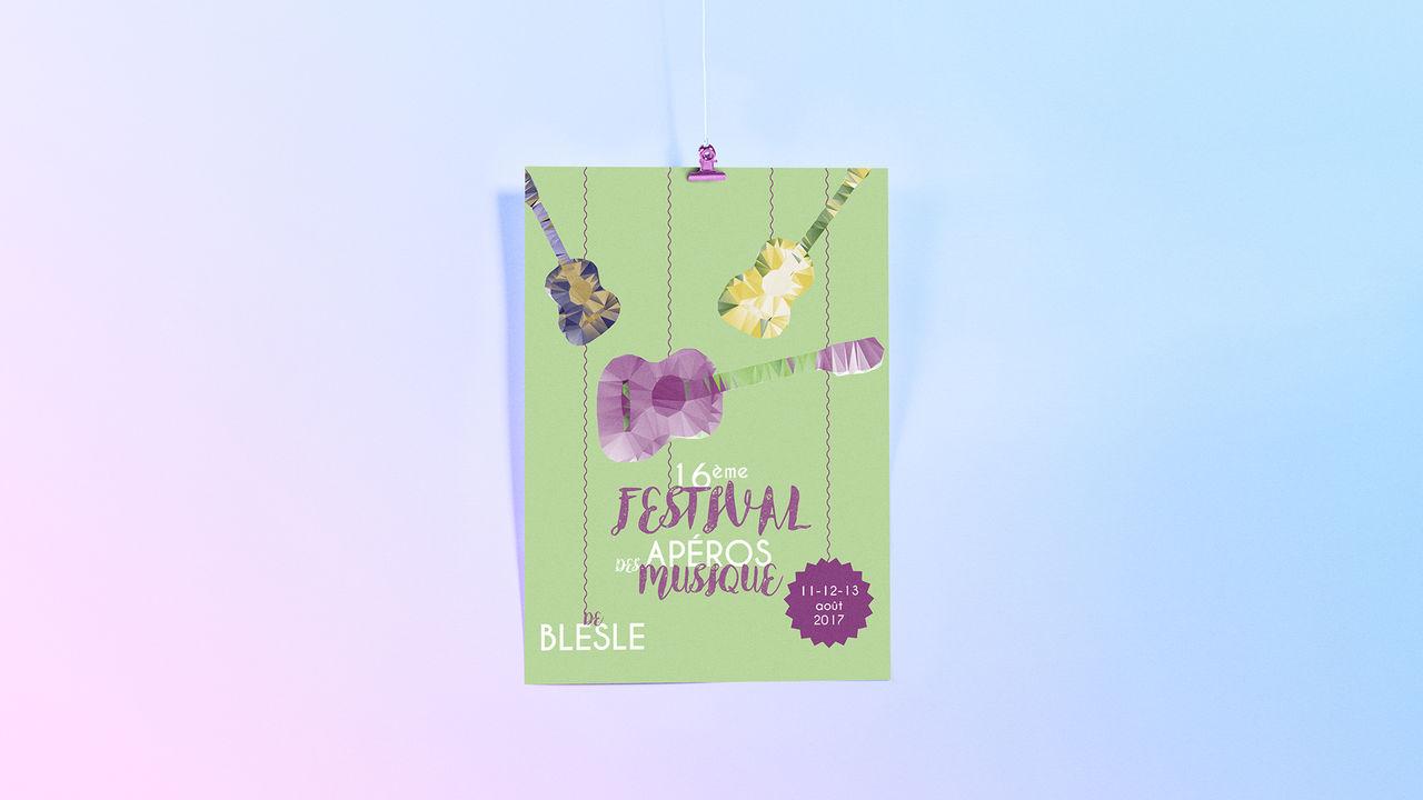 Affiche - Festival de Musique Blesle