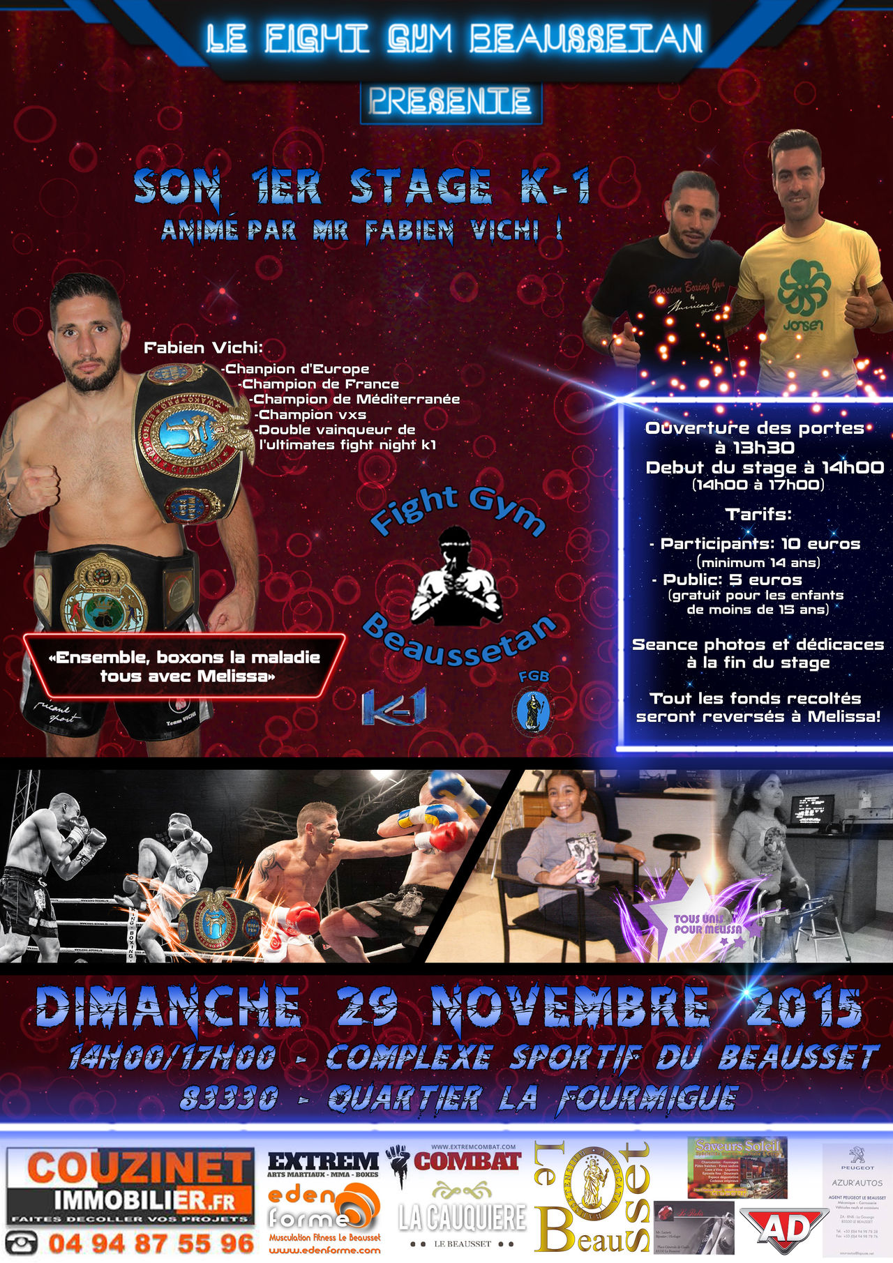 Affiche Fight Gym Beaussetan