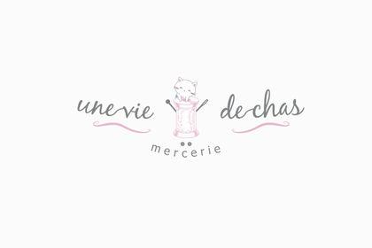 Logo mercerie - Une vie de chas
