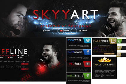 Kit graphique twitch Syyart