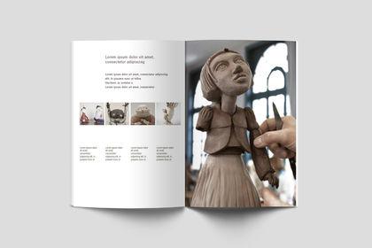 Mise en page magazine Ecole d'art