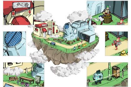 Concept Île flottante - Décors & proportions 3/3