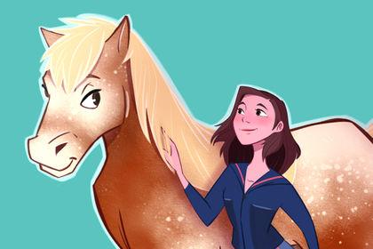 Amour de cheval comtois